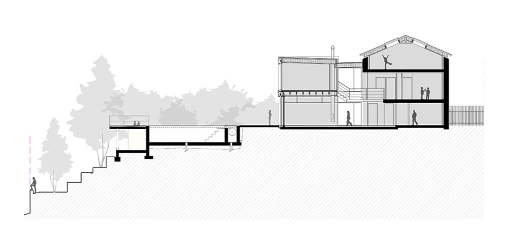 maison-contemporaine-en-ossature-bois_caluire-et-cuire-69_plan-coupe