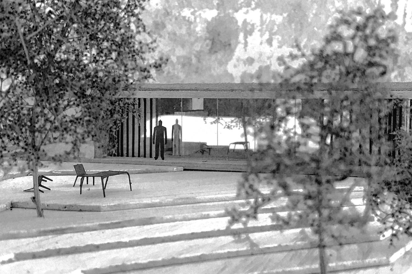 maquette-architecte-maison-contemporaine-baie-vitree