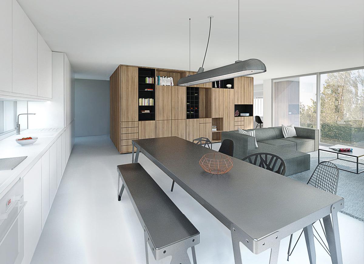 Meuble maison contemporaine - Maison contemporaine meuble ...