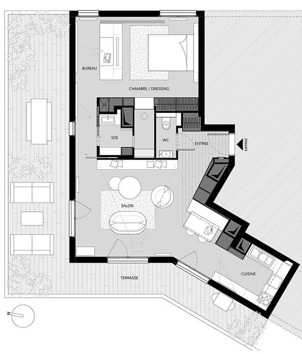Appartement-contemporain-architecte-terrasse-agencement-sur-mesure-mobilier-design_Plan-amenagement