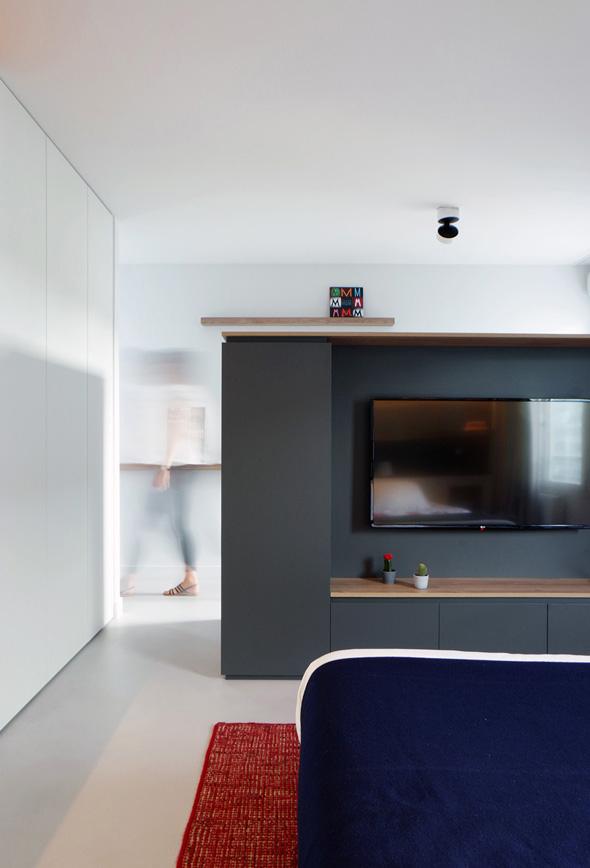 Appartement-contemporain-architecte-terrasse-agencement-sur-mesure-mobilier-design_Vue-chambre