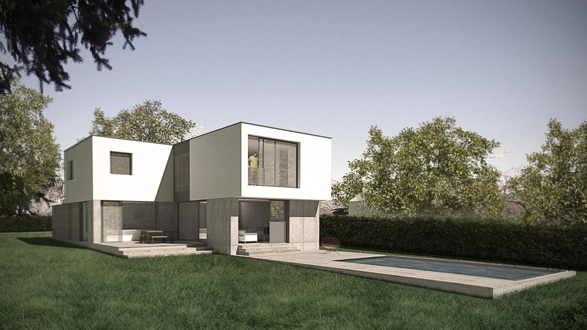 maison-neuve-contemporaine-architecte-minimaliste-cube-blanc-piscine-tasseau-terrasse-bois
