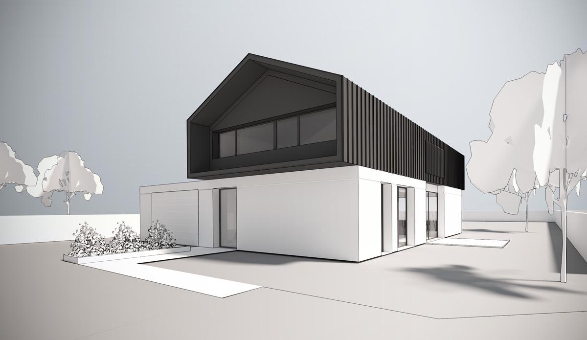Maison-contemporaine-architecte-Lyon-Exterieur-volumes-simple-bardage-minimaliste
