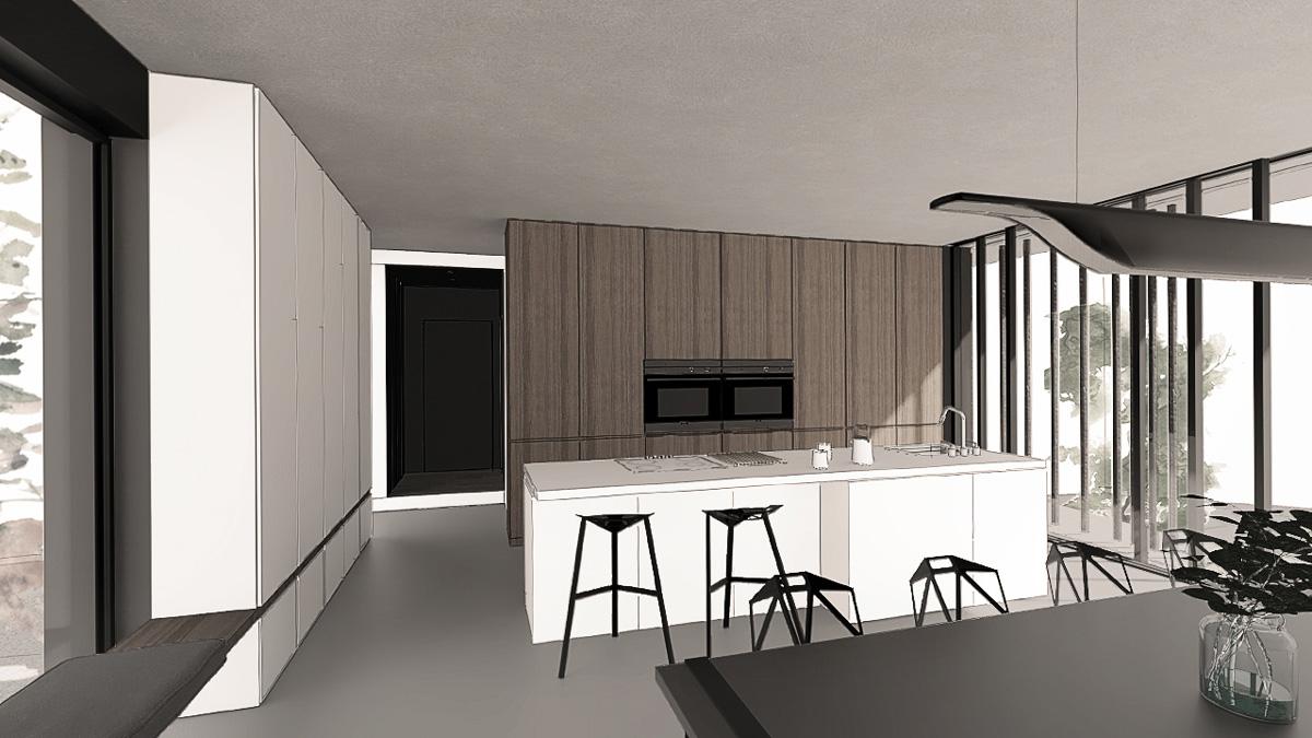 maison-contemporaine-minimaliste-beton-lyon-savoie-cuisine-sur-mesure-ilot-design
