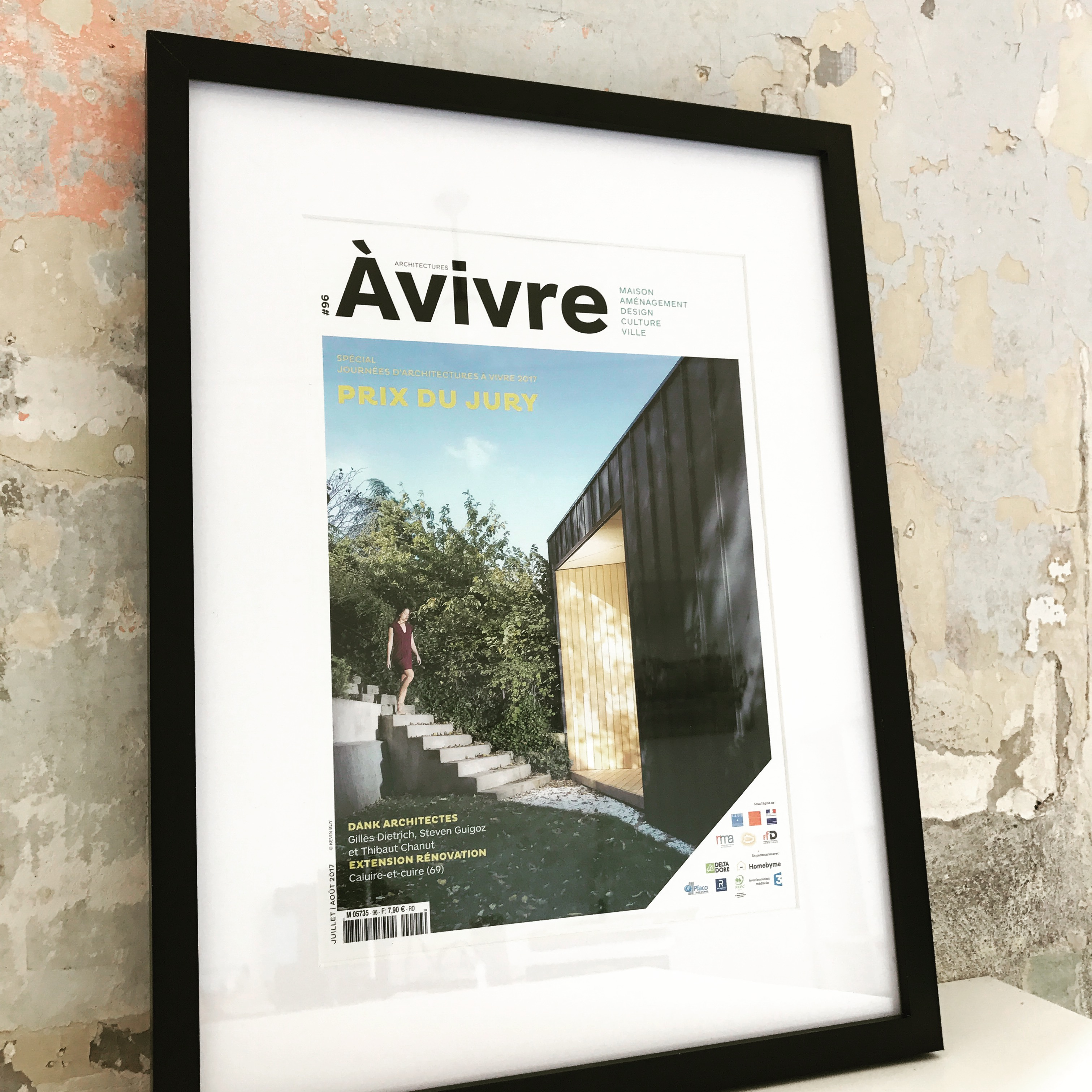 Dank Architectes gagne le Prix du Jury des Journées d'Architecture A Vivre 2017 !