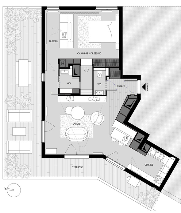 Appartement-contemporain-architecte-terrasse-agencement-sur-mesure-mobilier-design_Plan-amenagement