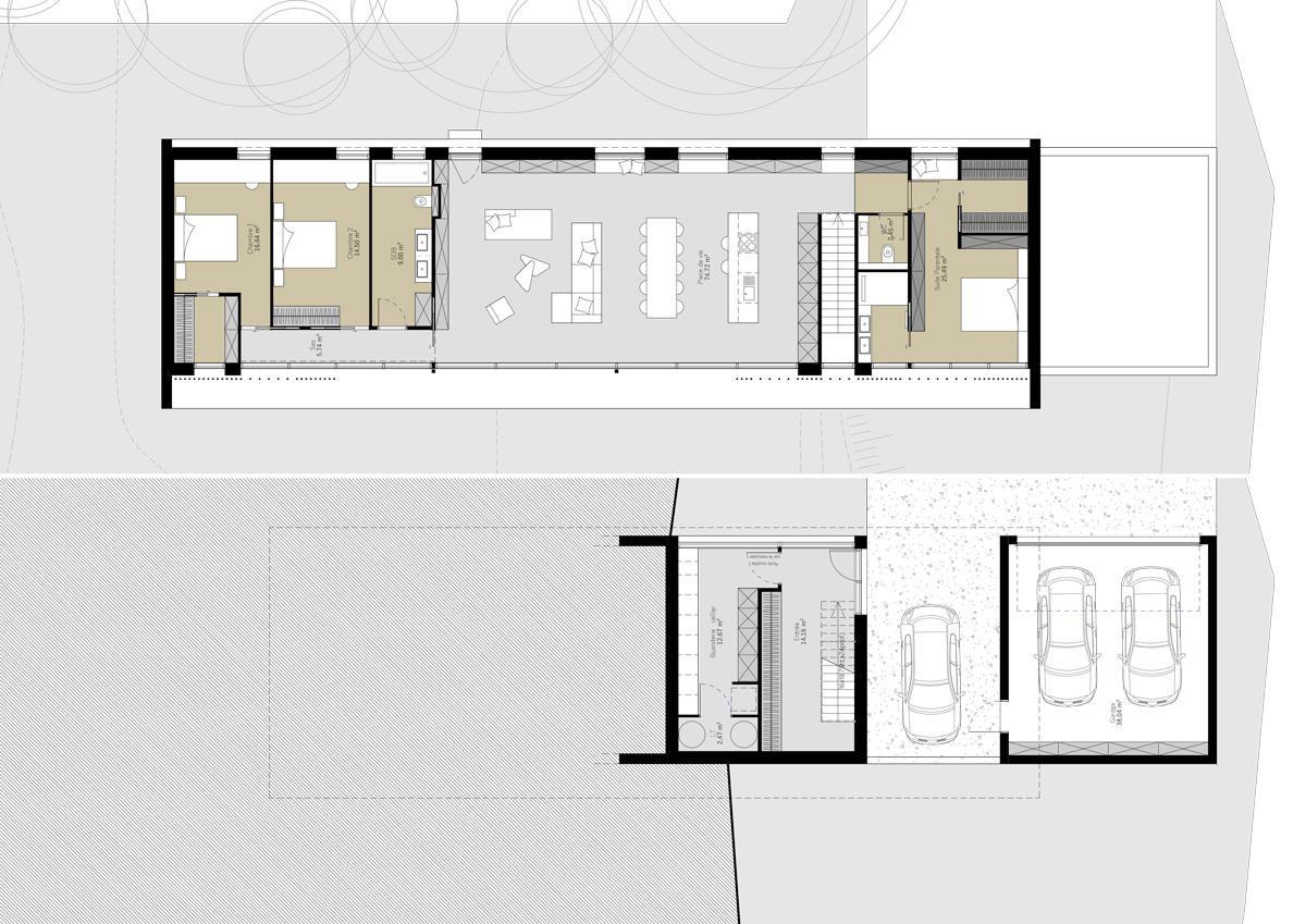 maison-contemporaine-minimaliste-beton-lyon-savoie-plan-fonctionnement-agencement-sur-mesure